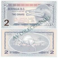 Cédula - Beringia - Kmxxx - 2 Dinars - 2012 - FE