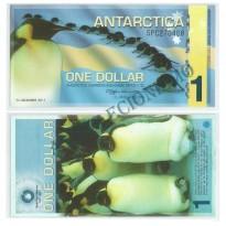 Céd Fantasia - Antárctica  - 1 Dollar - 2011 - FE