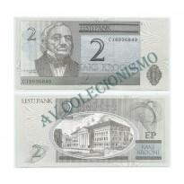 Cédula - Estonia - Kmnnn  - 2 Coroas - 2007 - FE