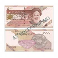 Cédula - Iran - Kmxxx - 5000 Rials - 2013 - FE