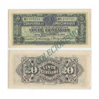 Cédula - Mocanbique  - KmR29  - 20  Centavos - 1933 - XF