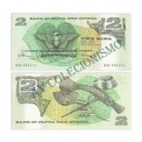 Cédula - Papua-Nova Guine  - #005a - 2  Kina - 1981 - FE
