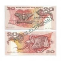 Cédula - Papua-Nova Guine  - #010a - 20  Kina - 1988 - FE
