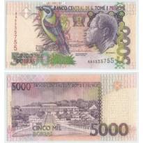 Cédula - São Tome e Principe  - #065b - 5000  Dobras - 2004 - FE