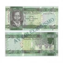 Cédula - Sudão do Sul - #nnn - 1 Libra - 2011 - FE
