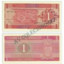 Cédula - Antilhas Holandesas - Km020 - 1 Gulden - 1970 - FE