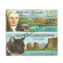 Céd Fantasia - Arquipélago de Kerguelen - 100 Francos - 2010 - FE