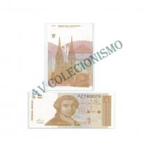 Cédula - Croacia - Km016 - 1 Dinar  -1991 - FE