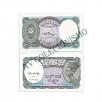 Cédula - Egito - Kmnnn -  5 Piastres - 2006 - FE