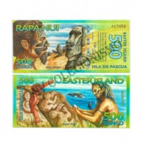 Céd Fantasia - Ilha da Pascoa -  500 Rongo - 2011 - FE