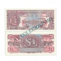 Cédula - Inglaterra - KmM22 -  1 Pound -  VOUCHER - 1948 - FE