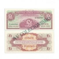 Cédula - Inglaterra - KmM36 -  1 Pound -  VOUCHER - 1962 - FE