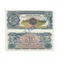 Cédula - Inglaterra - KmM23 -  5 Pounds -  VOUCHER - 1958 - FE