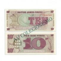 Cédula - Inglaterra - KmM45  -  10 Pence  -  VOUCHER - 1972 - FE