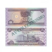 Cédula - Iraque - Km090 - 50 Dinares - 2003 - FE