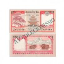 Cédula - Nepal  - #061 - 5 Rupias - 2009 - FE