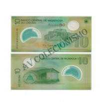 Cédula - Nicaragua - Kmxxx - 10 Cordobas - 2007 - FE