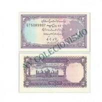 Cédula - Paquistão - #037 - 2 Rupias - 1983 a 99 - FE