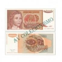 Cédula - Yugoslavia - Km116b - 10000 Dinara - 1992 - FE