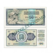 Cédula - Yugoslavia - Km083c - 50 Dinara - 1968 - FE