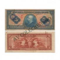 C002 - 5 Mil Reis - 1942 - SOB/FE