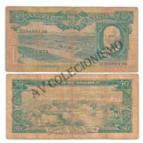 Cédula - Angola - Km093 - 50 Escudos - 1962 - MBC