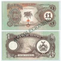 Cédula - Biafra - Km-N05 - 1 Libra - 1968 - FE
