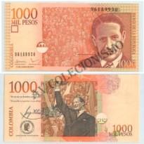 Cédula - Colombia - Kmnnn  - 1000 Pesos - 2011 - FE