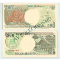 Cédula - Indonesia - Km128g -  500 Rupias - 1998 - FE