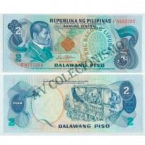 Cédula - Filipinas - Km159c -  2 Peso Filipino - 1978 -  FE