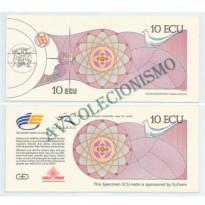 MSE001 - 10 ECU - Espanha -1992 - FE