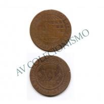 MCU 370 - Moeda XL réis - 1803 - Coroa Alta - MBC