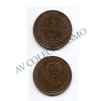 MES - ITA - Km003.2 - 5 Centesimi - Italia - 1861M