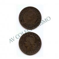 MES - ARG033 - 2 Centavos- Argentina - 1890