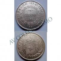 MAR 443 - Moeda 2000 réis - Prata - 1851 - MBC