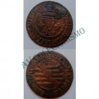 MCU 154 - Moeda V Réis  - 1769 - Escassa - BC