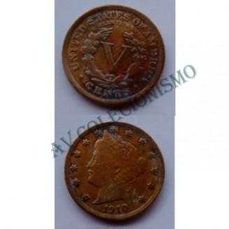 MES - USA - Km112 - V Cent - Estados Unidos da America - 1910