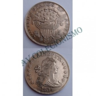 MES - USA - Km036 - Quarter Dollar - Estados Unidos da América - 1804 - Prata - STRIKE
