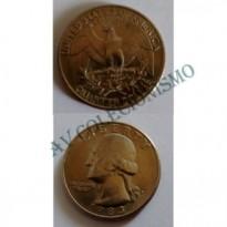 MES - USA - Km164a - Quarter Dólar - Estados Unidos da América - 1983P