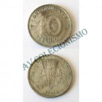 MES - ALE-GDR - Km003 - 10 Pfennig - Alemanha - 1949A