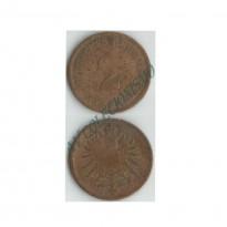 MES - ALE-GEM - Km002 - 2 Pfennig - Alemanha - 1876D