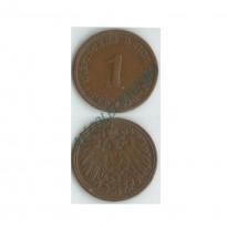 MES - ALE-GEM - Km010 - 1 Pfennig - Alemanha - 1903J
