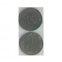 MES - ALE-GTR101 - 10 Pfennig - Alemanha - 1941G