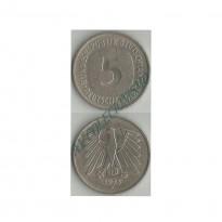 MES - ALE-GFR140.1 - 5 Mark - Alemanha - 1975F