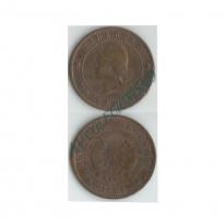MES - ARG032 - 1 Centavos- Argentina - 1884