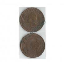 MES - ARG032 - 1 Centavos- Argentina - 1893