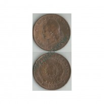 MES - ARG033 - 2 Centavos- Argentina - 1893