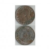MES - ARG033 - 2 Centavos- Argentina - 1891