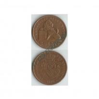 MES - BEL036  - 2 Centimes - Bélgica -1905