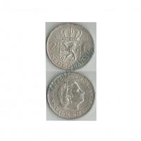 MES - HOL - KM185 - 2,5 Gulden - Holanda - 1966